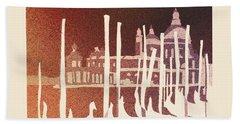 Venice Reversed Beach Sheet by Ryan Fox