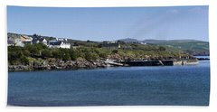 Ventry Beach And Harbor Ireland Beach Towel