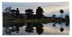 Beach Sheet featuring the photograph Ventura California Coast Estuary by Kyle Hanson