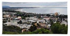 Ventura Coast Skyline Beach Sheet