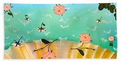 Venus's Roses Beach Towel