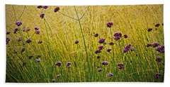 Verbena Beach Towel