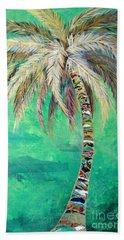 Verdant Palm Beach Towel