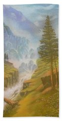Verdi Colline Beach Towel