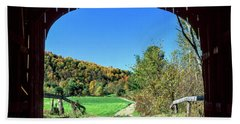 Vermont Covered Bridge Beach Towel