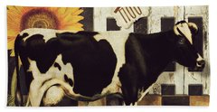 Vermont Farms Cow Beach Towel