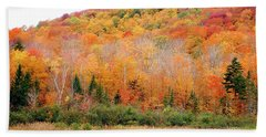 Vermont Foliage Beach Towel