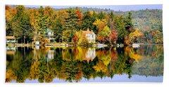 Vermont Reflections Beach Towel