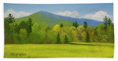 Vermont Spring Beach Towel