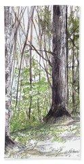 Vermont Woods Beach Sheet