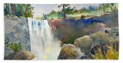 Vernal Falls Beach Towel