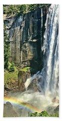 Vernal Falls Beach Towel
