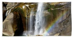 Vernal Falls Mist Trail Beach Towel