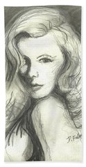 Veronica Lake Beach Towel
