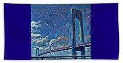 Verrazano Bridge Beach Sheet