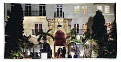 Versace Mansion South Beach Beach Towel