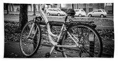 Versailles Bicycle Beach Sheet
