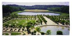 Versailles Digital Paint Beach Sheet