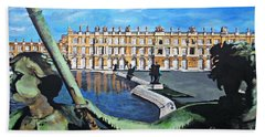 Versailles Palace Beach Towel by Francine Heykoop