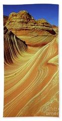 Vertical Wave Beach Sheet