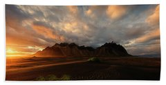 Vestrahorn Beach Sheet