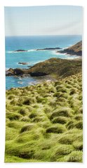Vibrant Cape Seascape Beach Towel