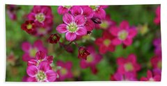 Vibrant Floral Beach Sheet