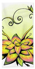 Vibrant Flower 8 Beach Towel