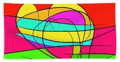 Vibrant Souls Beach Towel
