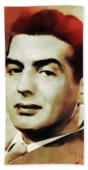Victor Mature, Hollywood Legend Beach Towel