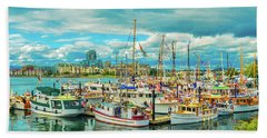 Victoria Harbor 2 Beach Towel