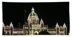 Victoria Legislative Buildings Beach Towel