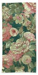 Victorian Garden Beach Towel