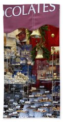 Vienna Chocolatier Shop Beach Towel