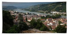 Vienne, France Beach Towel