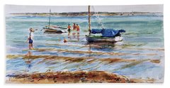 View Across Provincetown Harbor Beach Towel
