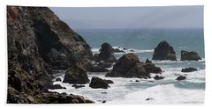 View From Bodega Head In Bodega Bay Ca - 4 Beach Sheet