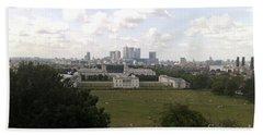 View From Greenwich 1 Beach Sheet