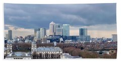 View From Greenwich 4 Beach Towel
