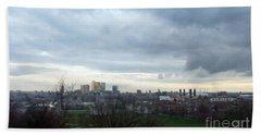 View From Greenwich 5 Beach Sheet