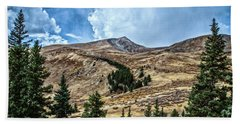 View From Guanella Pass Road Beach Towel