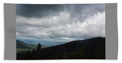 View From Mount Washington  Beach Towel by Suzanne Gaff