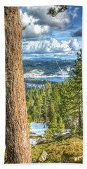 View From Peddler Hill 2 Beach Towel
