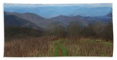 View From Silers Bald 2015a Beach Towel