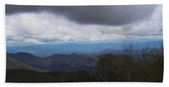View From Silers Bald 2015b Beach Towel