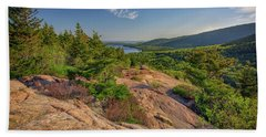 View From South Bubble Beach Towel by Rick Berk