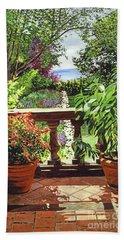 View From The Royal Garden Beach Sheet