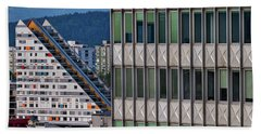 Beach Towel featuring the photograph View From The Skyscraper #3 - Slovenia by Stuart Litoff