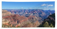 Beach Towel featuring the photograph View From The South Rim by John M Bailey