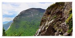 View Of Cannon Mountain Beach Towel